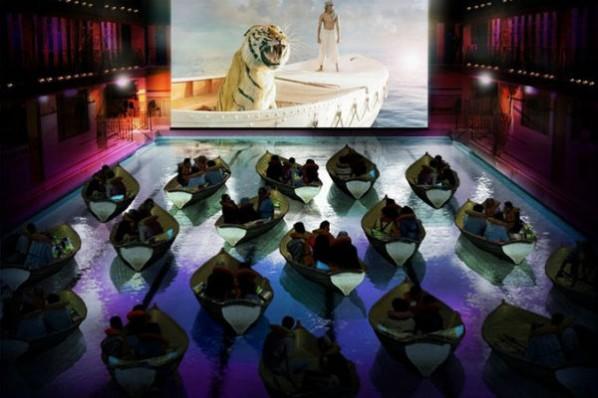6. Movie Theater (París) para la proyección de la película La vida de Pi