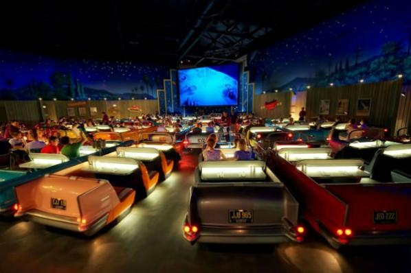 9. Teatro Sci-Fi Dine-In, Estudios Disney en Hollywood