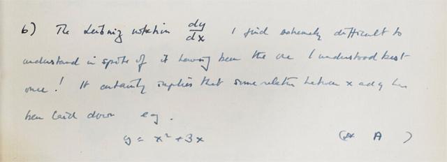AlanTuring-2- El cuaderno tiene 56 páginas con notas personales y parte de su trabajo durante la Segunda Guerra Mundial