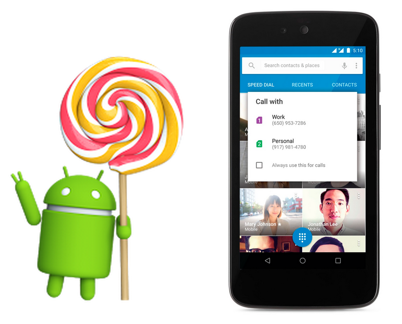 Android 5.1 Lollipop-1