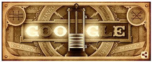 Doodle-Alessandro Volta