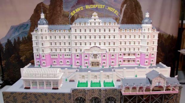 El Gran Hotel Budapest en Lego