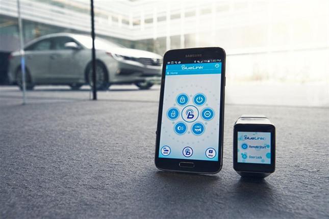 Hyundai- App-Blue Link
