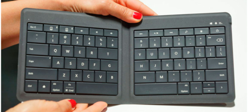 Microsoft -teclado bluetooth - plegable