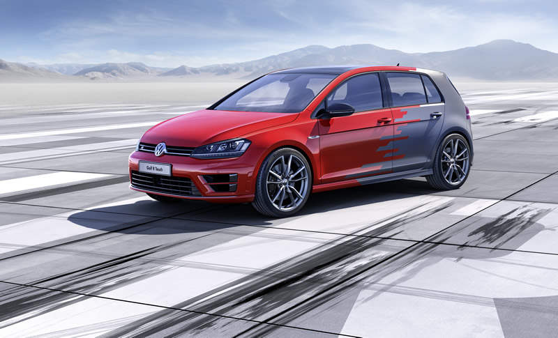 Volkswagen-Golf R Touch