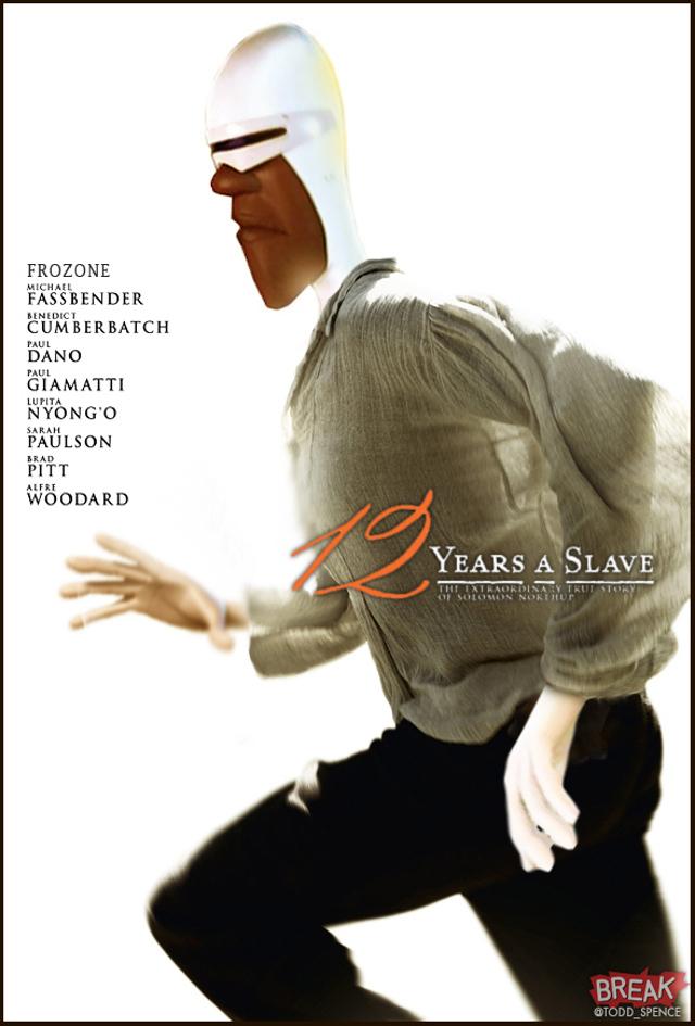 12 Years A Slave pixar
