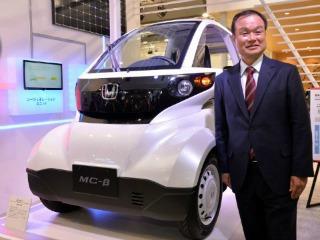 Automovil de Hidrógeno Honda