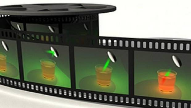 Compressed Ultrafast Photography