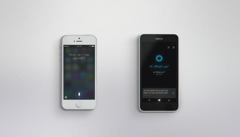 Cortana-Siri