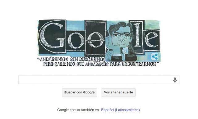 Doodle Julio Cortazar