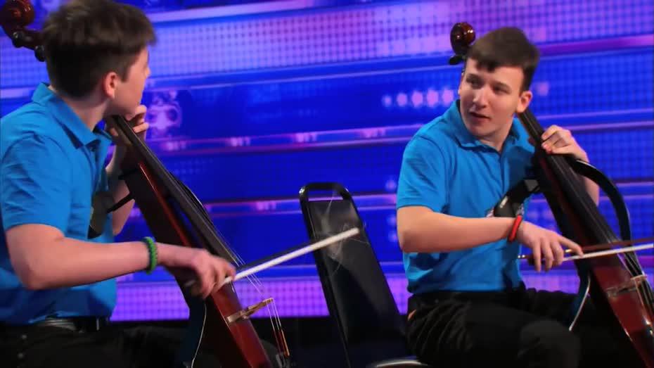 Emil & Dariel: Cello Players