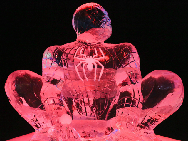 Ice Magic Festival in Brussels