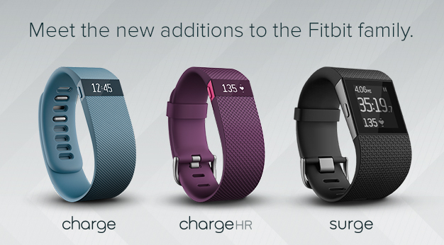 Fitbit-Charge- Charge HR-Surge