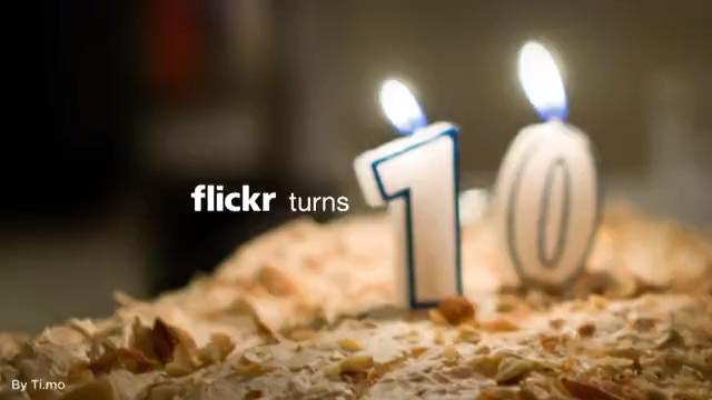 Flickr 10 años