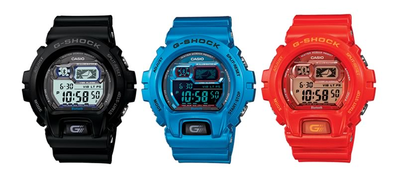 G-Shock-Bluetooth-Colores