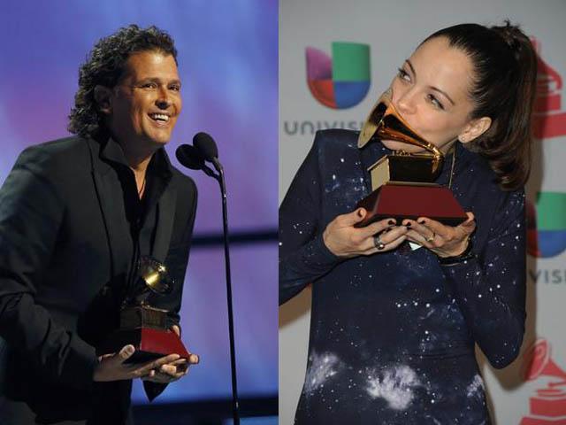 Ganadores Grammy Latino