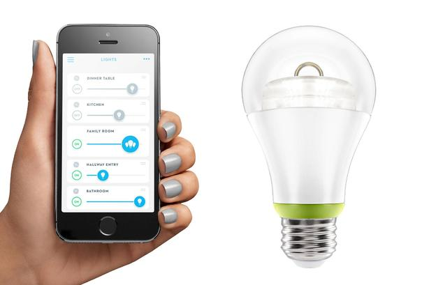 El foco led será controlado por medio de la App Wink.