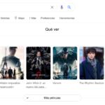 Google sumó la opción para obtener recomendaciones de películas directamente en el buscador