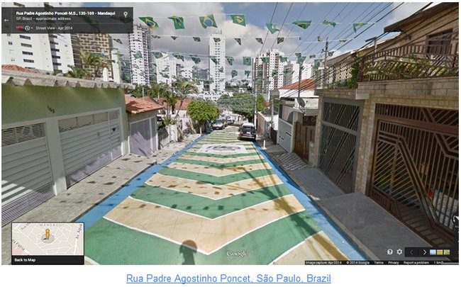 Google street view- rua-padre-agostinho-poncet-sao-paulo-brasil-fifa-2014