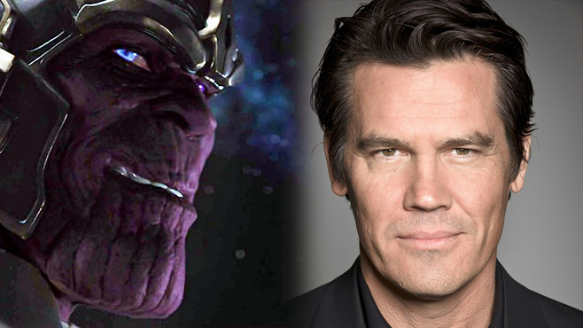 Guardianes de la Galaxia-Josh Brolin -Thanos