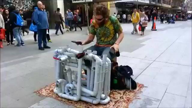 Jake Clark-artista callejero