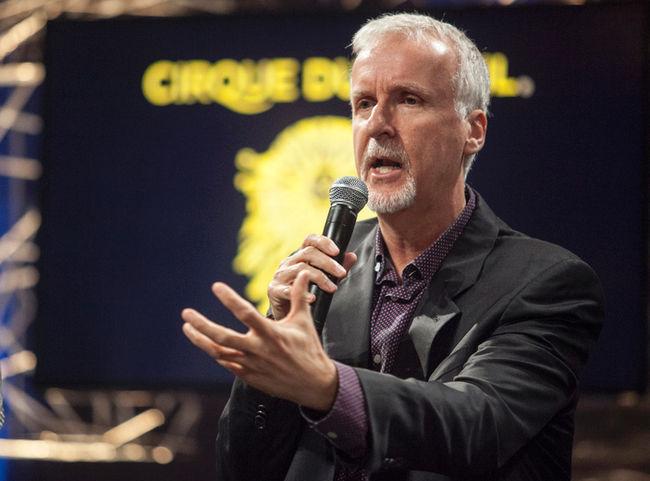 James Cameron-Cirque du Soleil
