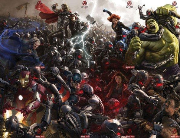Los Vengadores póster de Avengers- Age of Ultron