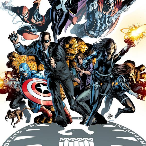 Marvel -Shield -comic
