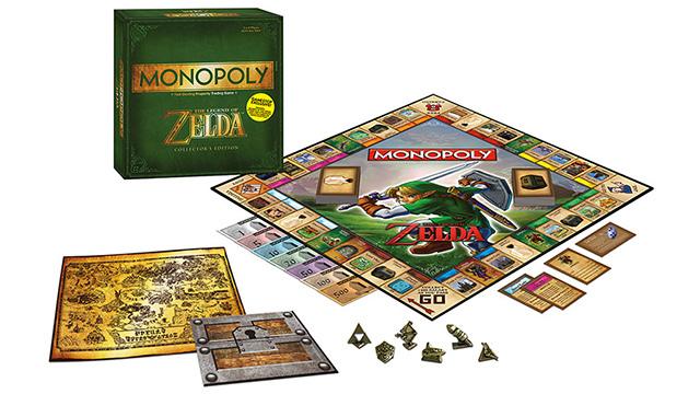Monopoly de The Legend of Zelda-1