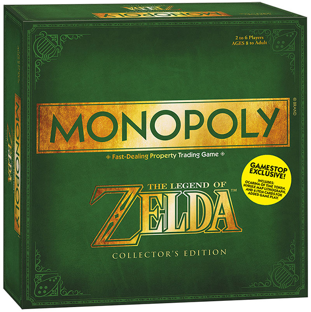 Monopoly de The Legend of Zelda-2