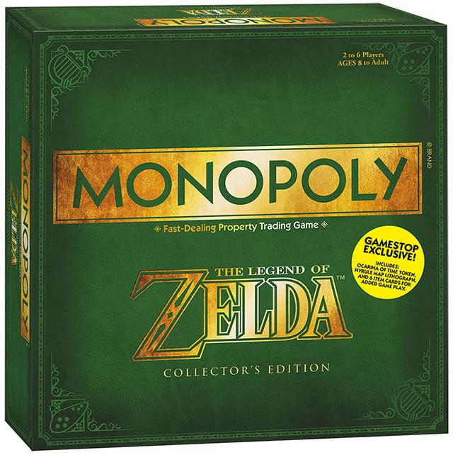 Monopoly de The Legend of Zelda-2