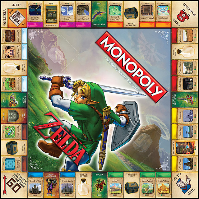 Monopoly de The Legend of Zelda-3