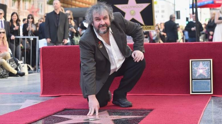 Peter Jackson-estrella paseo de la fama