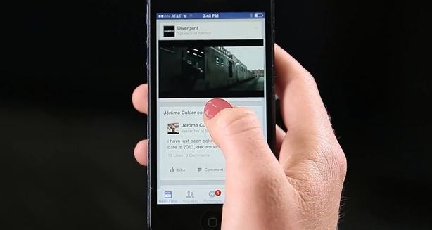 Publicidad de FB en video