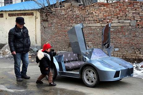 Réplica Lamborghini 1