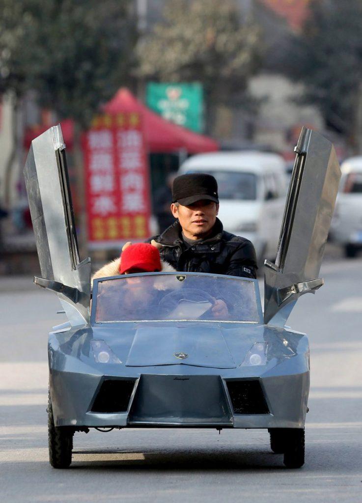 Réplica Lamborghini 8