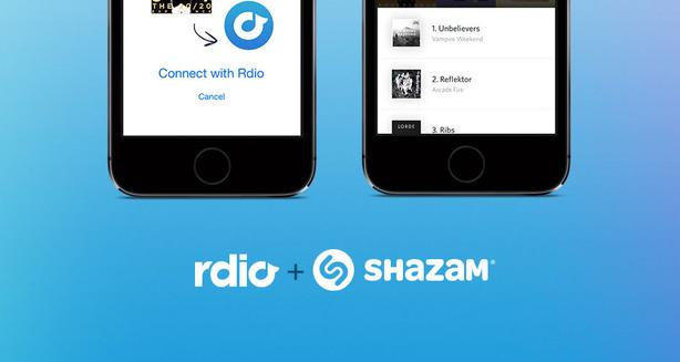Rdio-Shazam