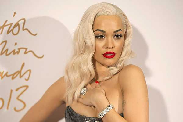 Rita Ora en 50 sombras