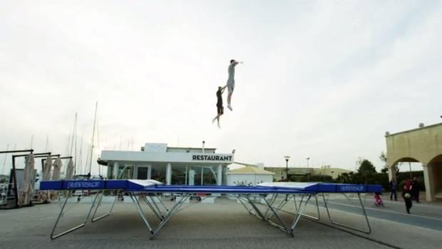 Saltos en trampolín