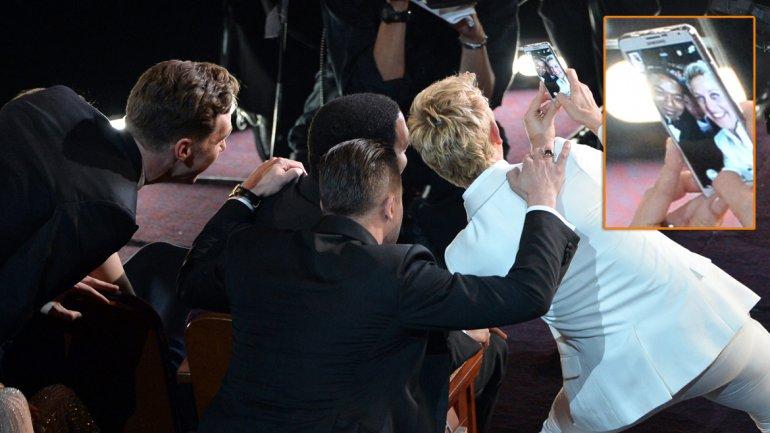 Selfie Ellen DeGeneres 2