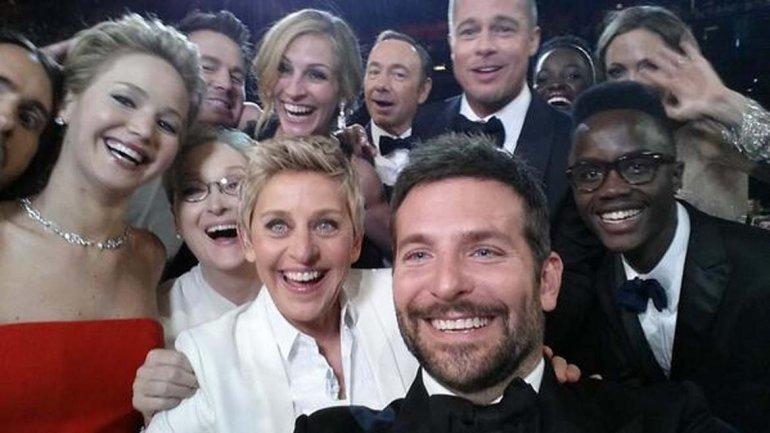 Selfie Oscar 1