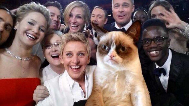 Selfie Oscar 4