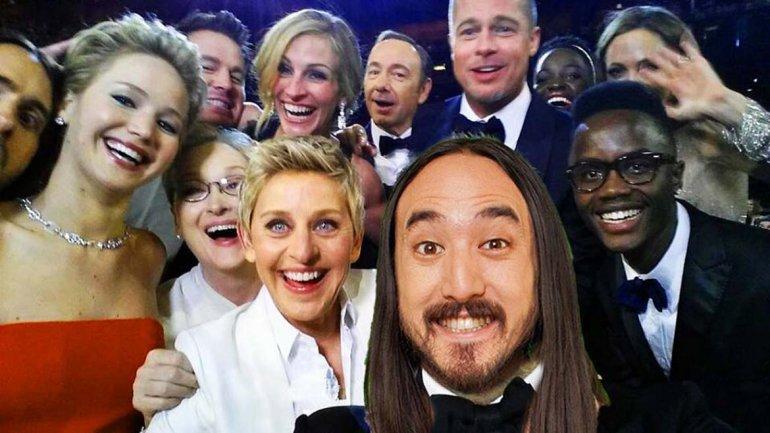Selfie Oscar 6