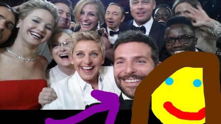 Selfie Oscar 7