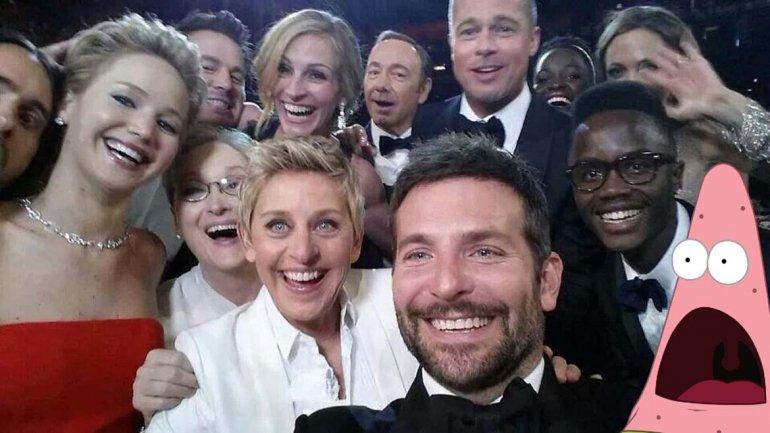 Selfie Oscar 9