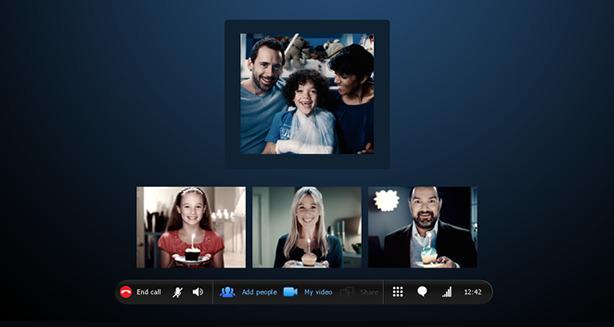 Skype -videollamadas grupales gratuitas - Android - iPhone