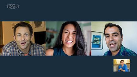 Skype-videollamadas grupales