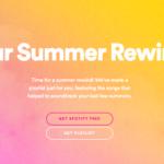 Your Summer Rewind 2020 es la nueva propuesta de Spotify