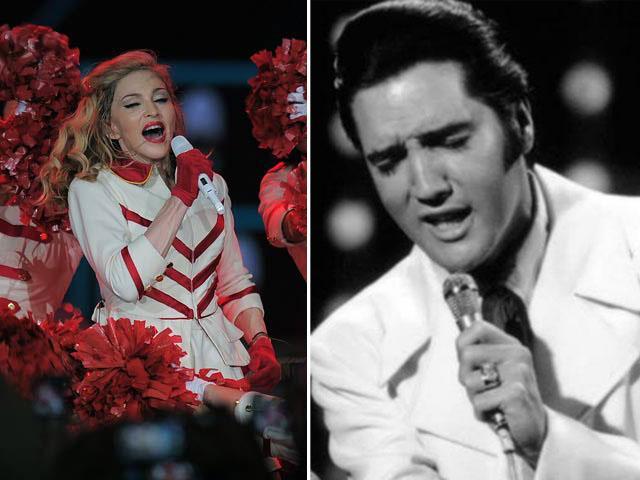 Subasta- Madonna- U2- Elvis Presley