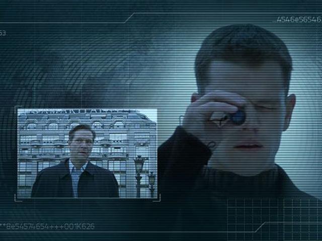 The Bourne identity-Matt Damon